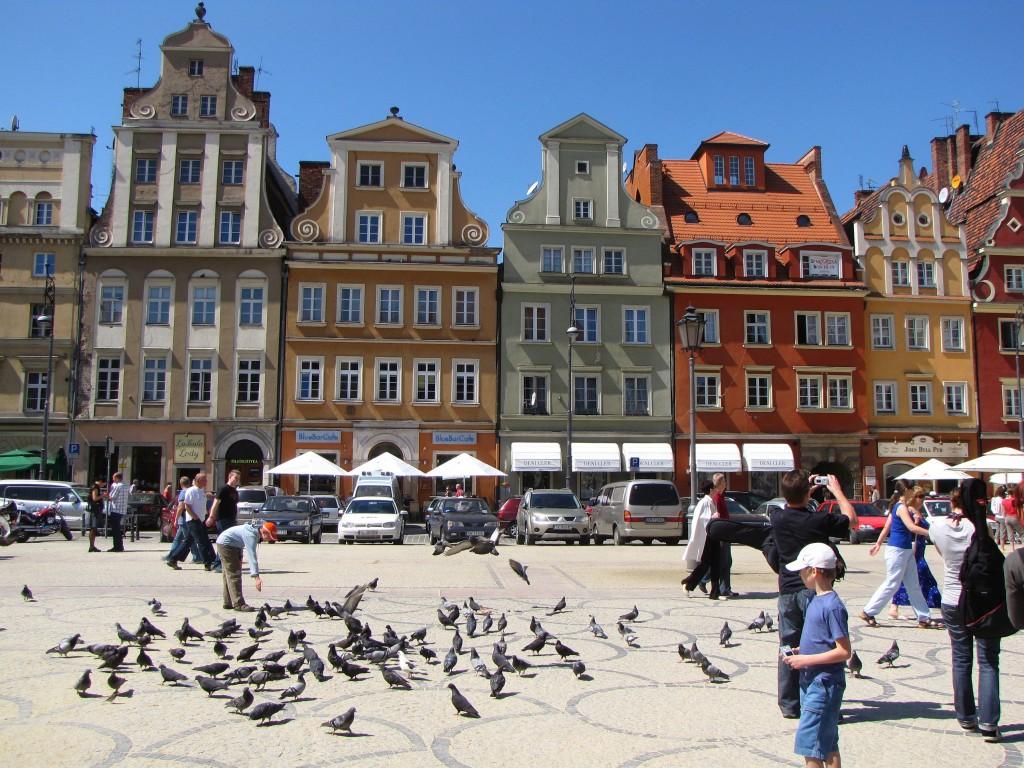 Khu phố cổ Wroclaw