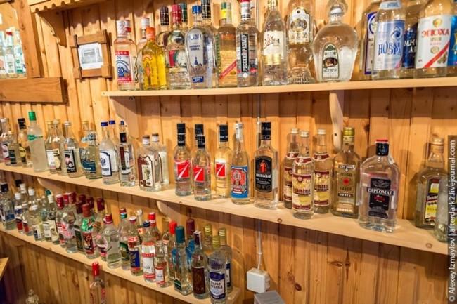 bảo tàng rượu vodka