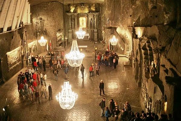 Mỏ muối Wieliczka thánh đường