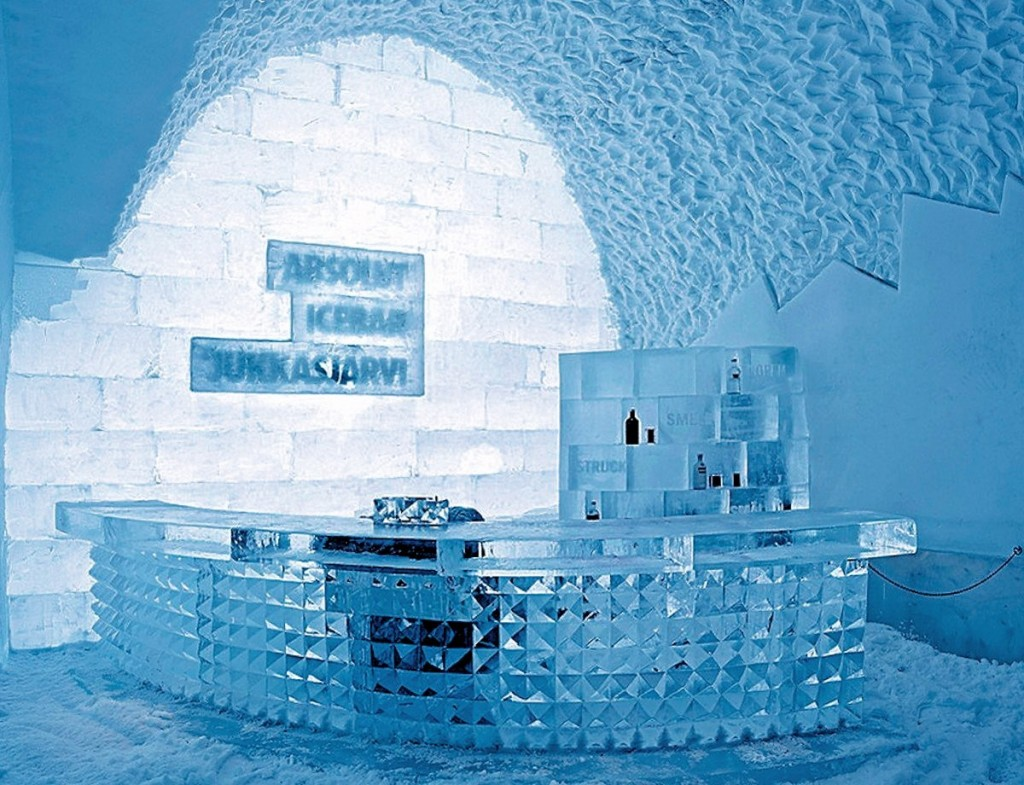 Quầy Bar ở Icehotel