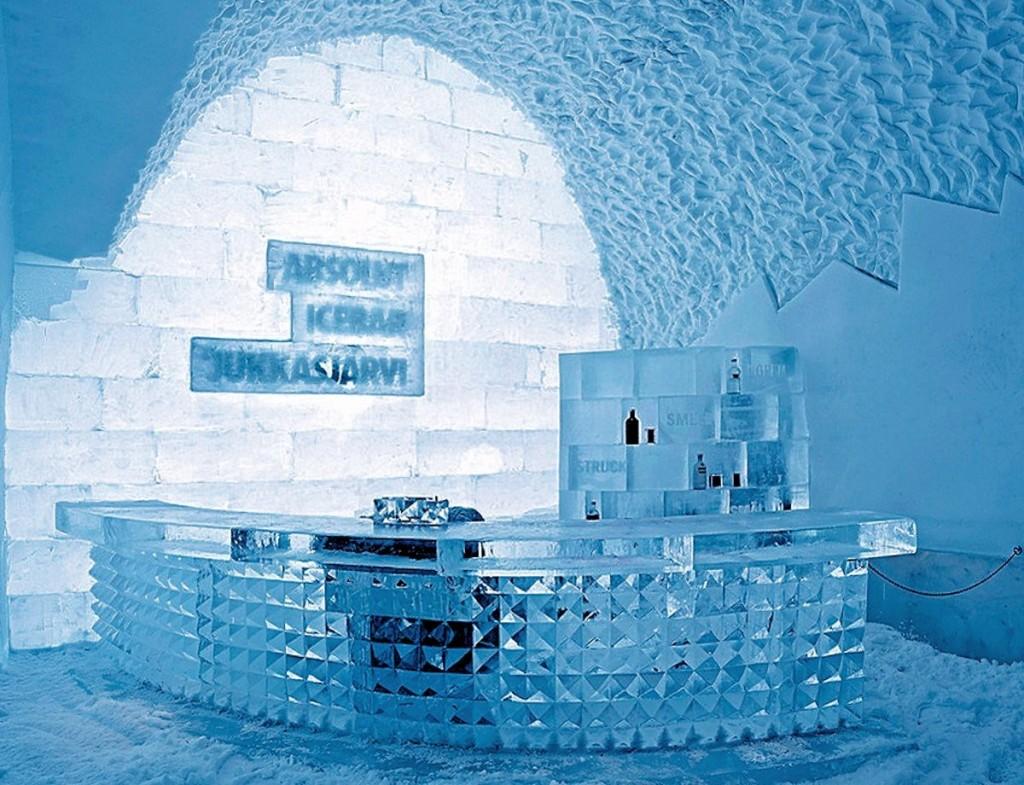 Quầy Bar ở Icehotel