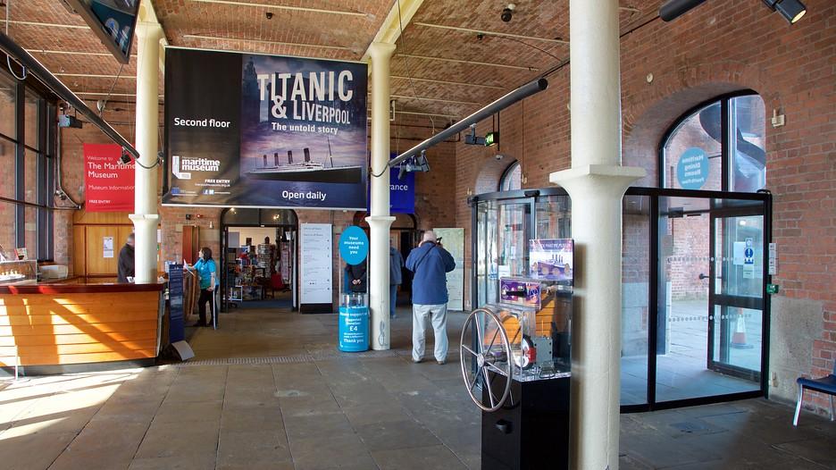 Bảo tàng hàng hải Merseyside liverpool