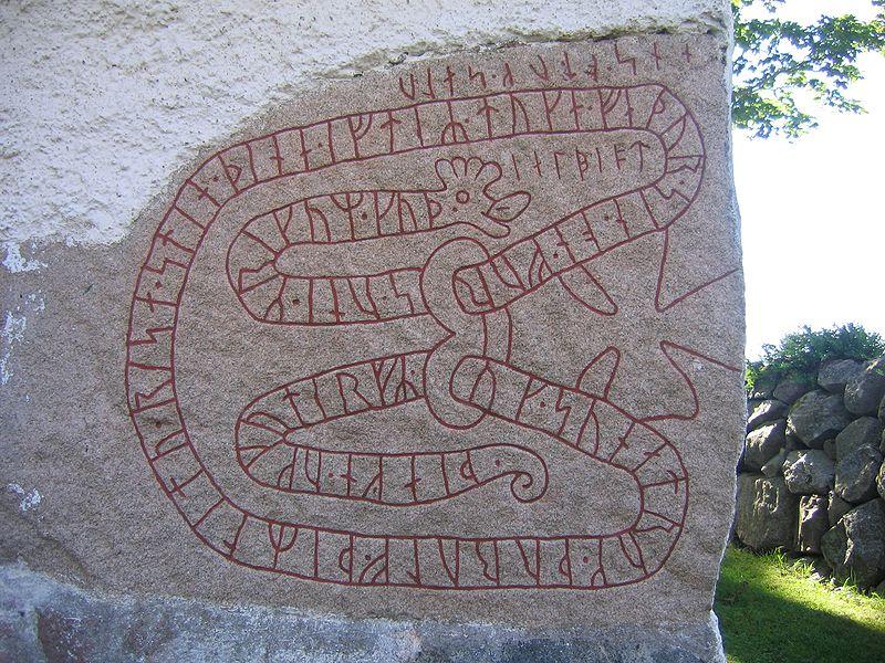 khắc chữ Rune