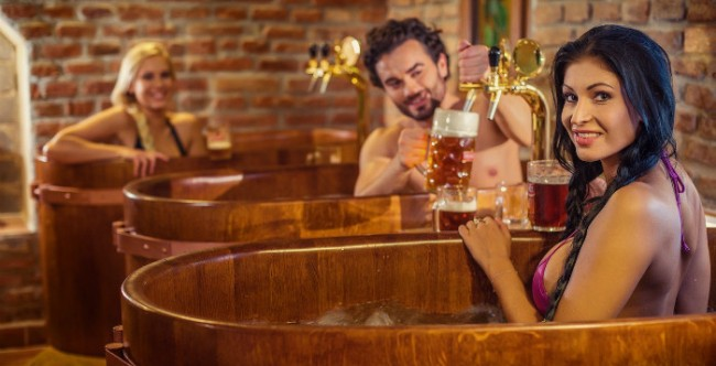 tắm bia