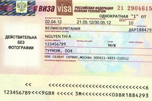 visa Nga