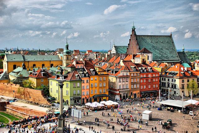 Trung tâm thương mại cổ Warsaw