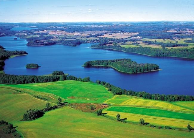 Vùng hồ Masurian
