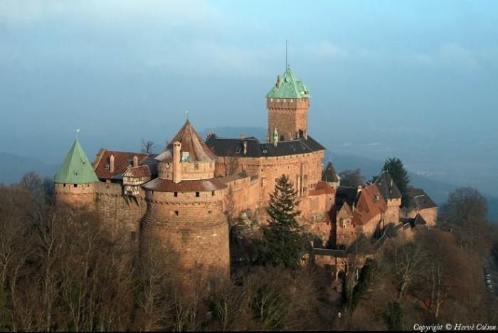 lâu đài Haut-Koenigsbourg