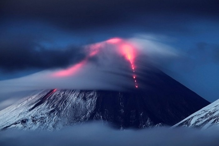 núi lửa Klyuchevskaya Sopka1
