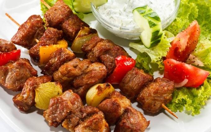 Thịt nướng Shashlik