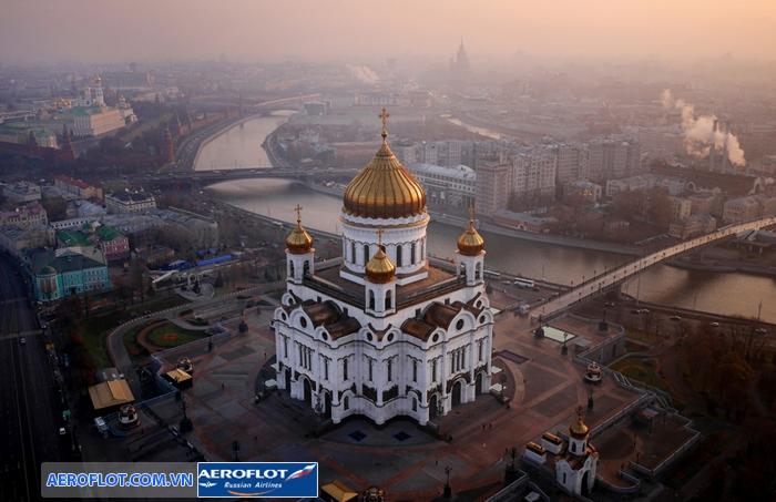 nha tho chua cuu the Moscow
