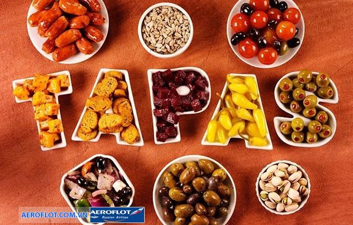 Món tráng miệng Tapas
