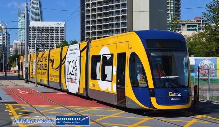 Phương tiện giao thông công cộng rất phát triển ở Đức