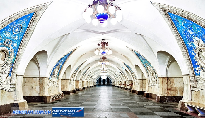 Ga tàu điện ngầm Moscow