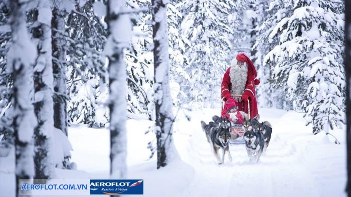 Mùa đông Lapland