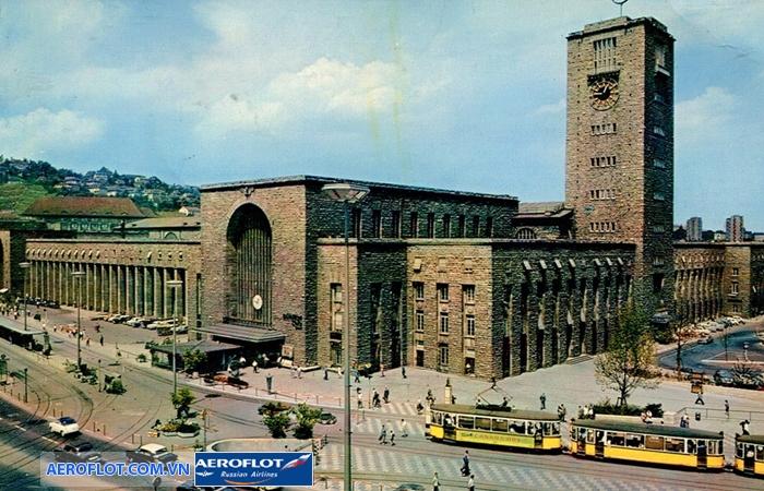 Nhà ga xe lửa Stuttgart