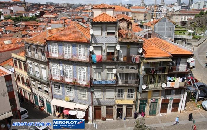 Phố cổ Porto