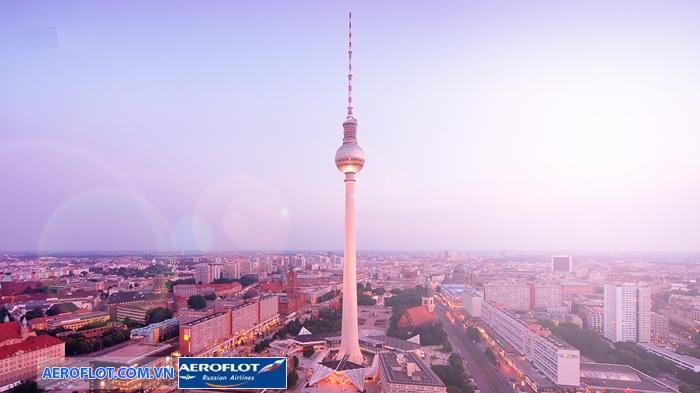 Tháp truyền hình Berlin Fernsehturm