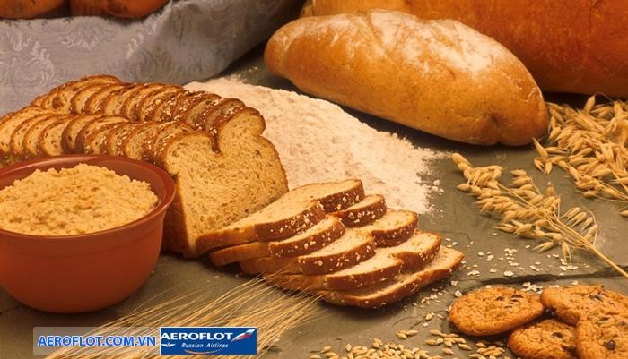 Bánh mì muối của Nga