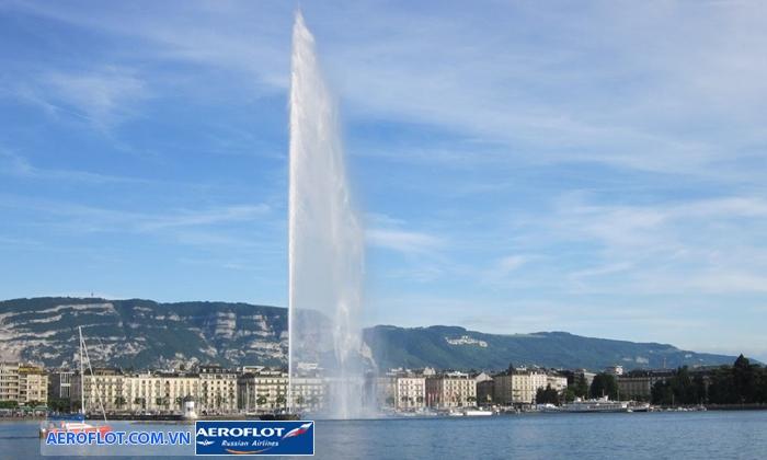 Đài phun nước Jet d'Eau