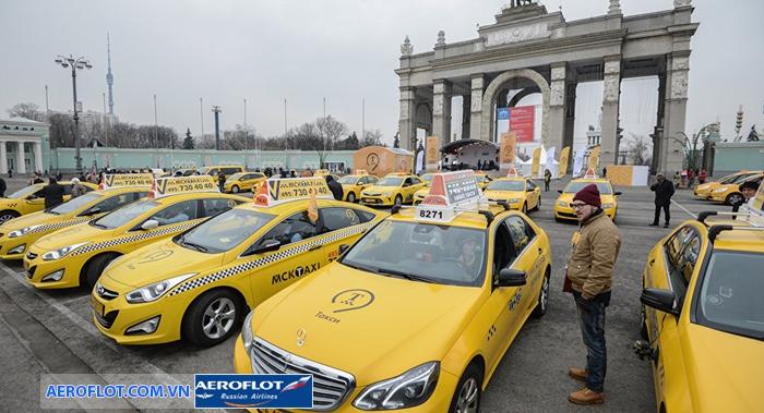 Taxi ở Nga