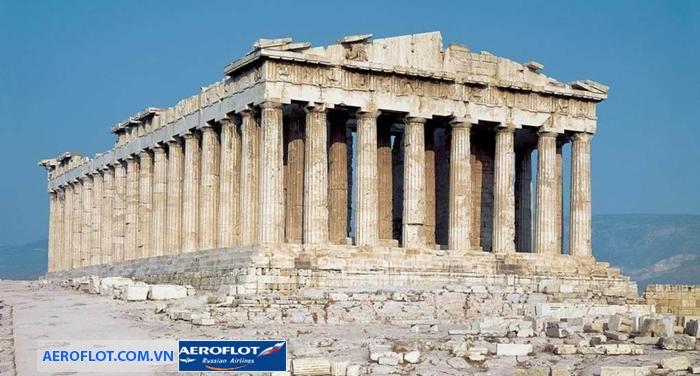 Đền Parthenon nổi tiếng