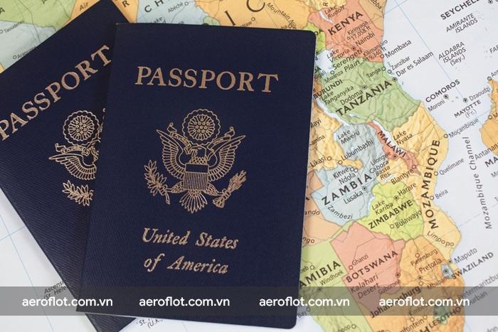 Passport gốc phải còn trống ít nhất 2 trang và còn hiệu lực tối thiểu 6 tháng