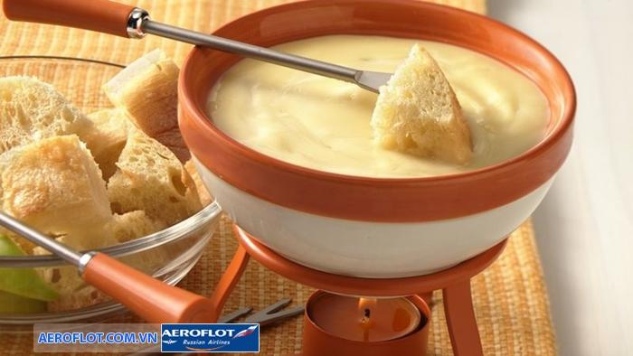 Lẩu phô mai Cheese fondue