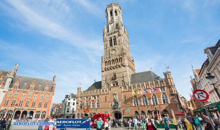 Tháp chuông ở Bruges