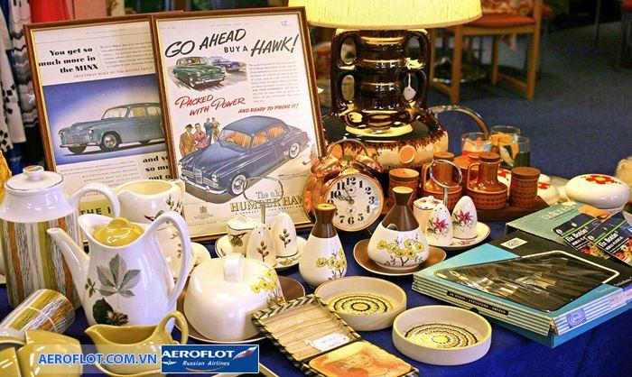 Hội chợ Vintage ở Yorkshire