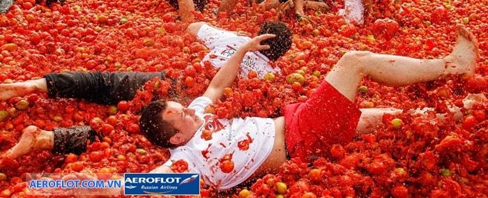 Lễ hội ném cà chua Tomatina