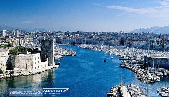 Thành phố cảnh biển miền Nam Marseille