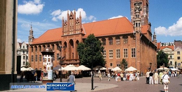 Thành phố cổ Torun