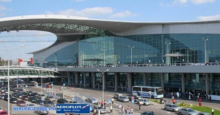 Phương tiện di chuyển ở sân bay Sheremetyevo