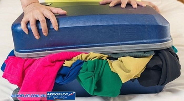 Quy định về hành lý xách tay của Aeroflot