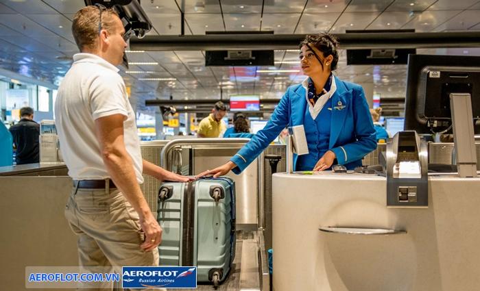 Hàng hóa bị cấm trên chuyến bay Aeroflot