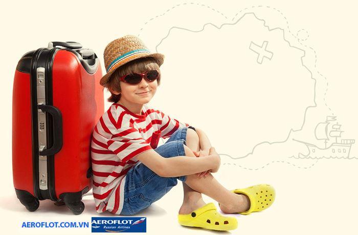 Hạn mức hành lý ký gửi cho trẻ em