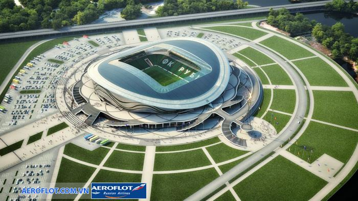 Volgograd, Volgograd có sức chứa lên đến 45.000 người