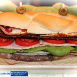 Sandwich bò món ăn điểm tâm của người dân nước Anh