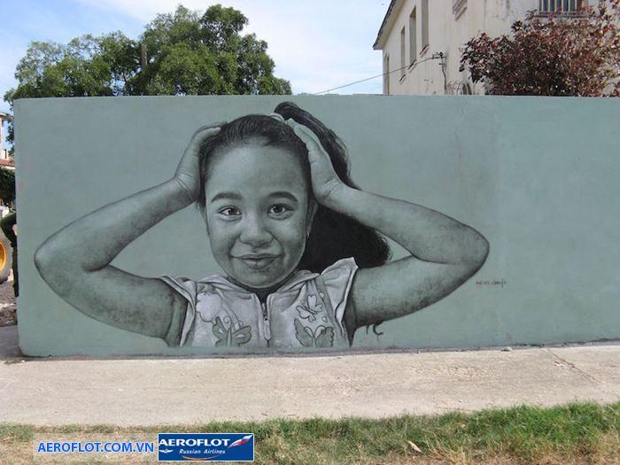 Tranh tường của Maisel Lopez