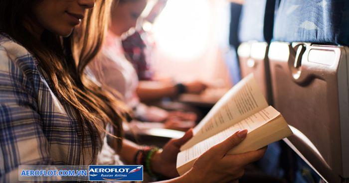 Có thể mang lượng sách vừa phải lên máy bay