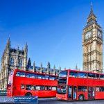 Xe bus 2 tầng phương tiện công cộng phổ biến tại Anh