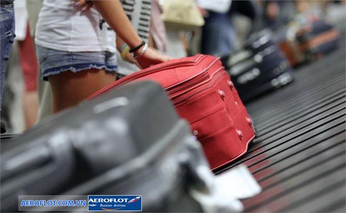 Quy định về hành lý ký gửi của hãng Aeroflot