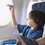 Tìm hiểu quy định trẻ em đi máy bay Aeroflot