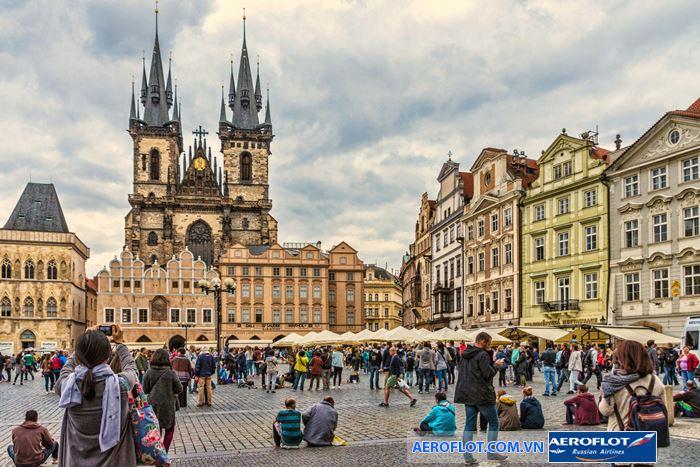 Lâu đài Prague một trong những lâu đài lớn nhất thế giới
