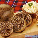 Dạ dày cừu nhồi đặc trưng của Scotland