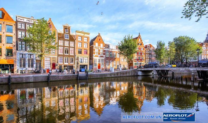 Kênh đào Amsterdam được công nhận là di sản thế giới