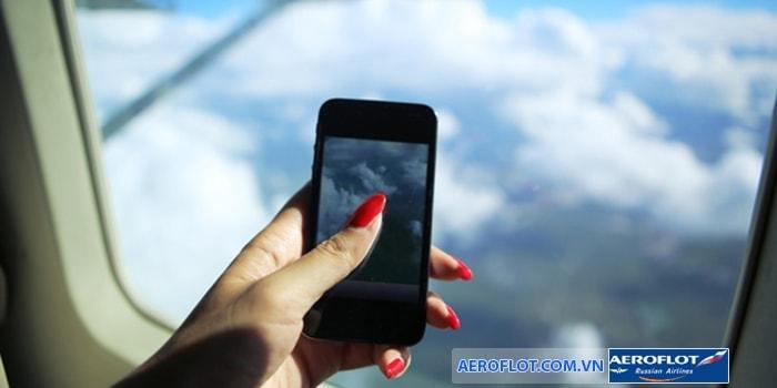 Thiết bị điện tử không được phép sử dụng trên máy bay