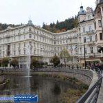 Dòng sông ấm của Karlovy-Vary