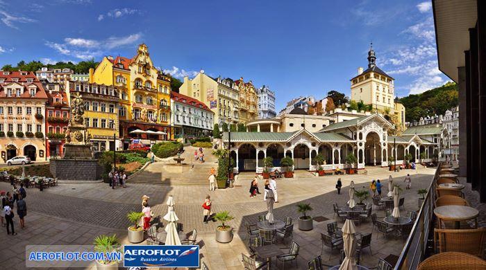Nét đẹp cổ kính từ công trình kiến trúc của thành phố Karlovy Vary